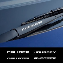 Dla Dodge AVENGER kaliber CARAVAN CHALLENGER ładowarka DART DURANGO podróż NITRO RAM akcesoria myjka do wycieraczki samochodowej naklejki