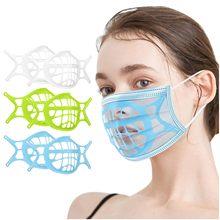 Masque 3d máscara suporte-silicone máscara facial Bracket-3D novo estilo tecido máscara adulto três camadas rímel tejida de novo estilo