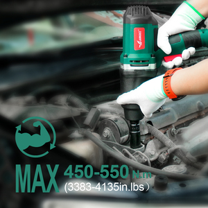 Image 5 - 950W Electric Impact Wrench 450 550Nm Max Torque LANNERET 1/2 inch Car Socket Household Professional Wrench Changing Tire Tools