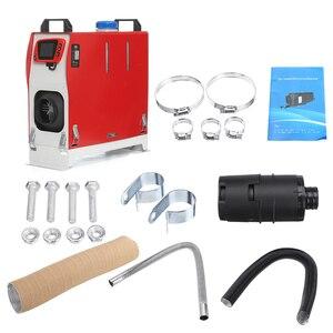 Image 5 - Tudo em uma unidade 8000w 12v aquecedor de carro ferramenta calor diesel aquecedor único furo lcd monitor estacionamento mais quente para o caminhão carro ônibus barco rv