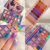 UCANBE Marke Augen Kosmetik 18 Farbe Dämmerung & Dämmerung Lidschatten Make-Up Palette Shimmer & Glitter Pulver Matte Lidschatten Machen up