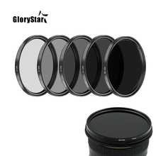 Filtro nd2 nd4 nd8 nd16 nd32 filtros 37/40.5/43/46/49/52/55/58/62/67/72/filtros 77/82mm para câmera canon nikon sony pentax