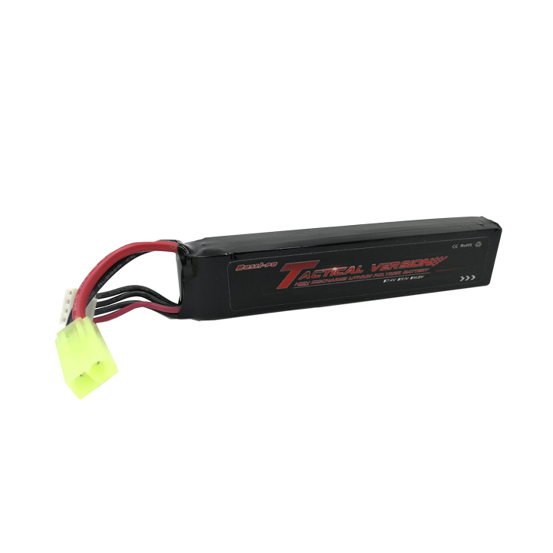 Bopslipo 11.1V 1200mah High Power Polymer Lithium Battery for LDT <font><b>416</b></font> Water Gel Beads Blaster with Tamiya Interface image