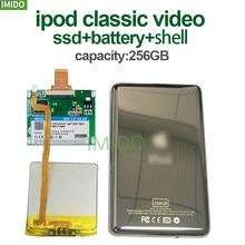 Novo 256g para ipod classic 7gen 7th 160gb ipod vídeo 5th substituir mk3008gah mk8010gah mk1634gal ipod hdd disco rígido