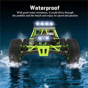 Wltoys 12428 RC Car 4WD 2.4Ghz 1:12 Radio Remote Control Crawler Off-road Model Toy High Speed 50km/h Vehicle With LED Light 5