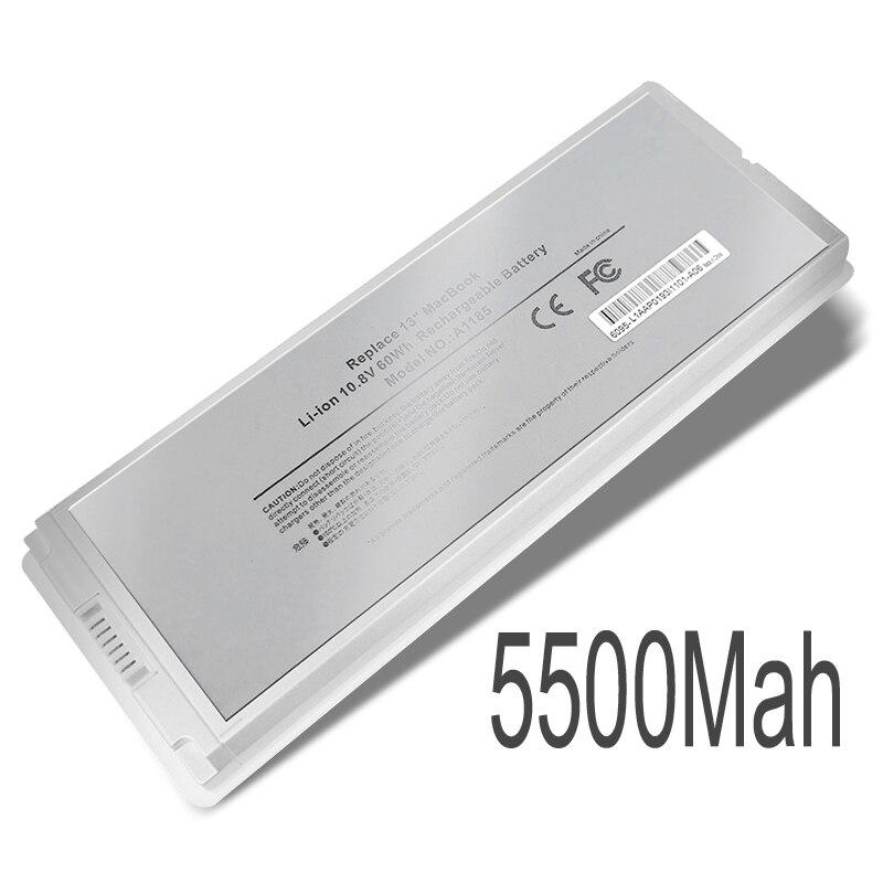 Nouvelle batterie d'ordinateur portable Interne Pour MacBook A1181 A1185 MB402 MB403 13 pouces