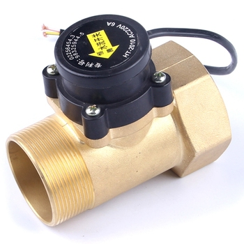 HT2010 2 Two Inches Boosting Circulation Water Pump Flow Sensor Switch Electronic Magnetic Pipe Pressure Control Valve