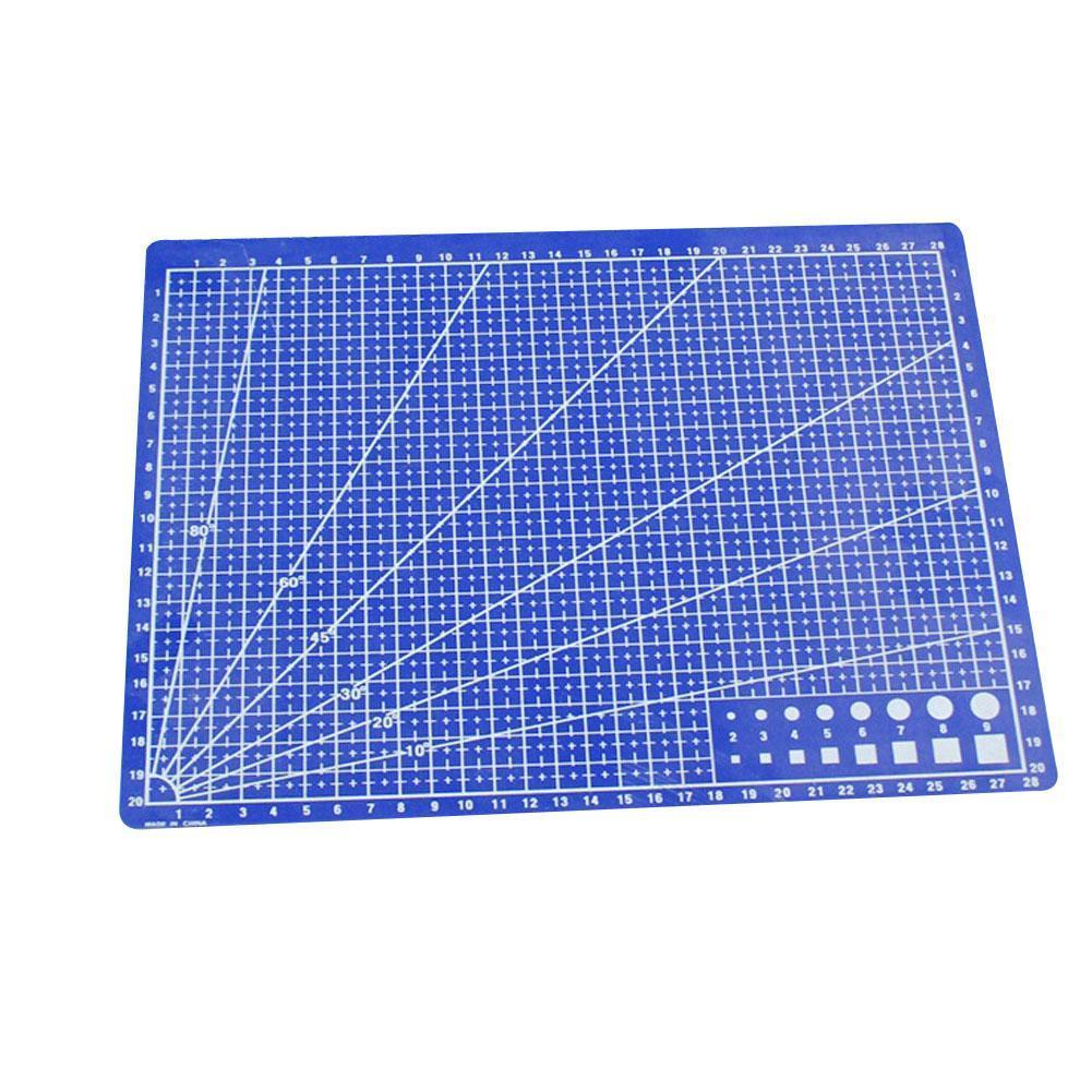 Creative 300*220mm Plastic Cutting Pad Office Cutting Drawing A4 Supplies Office Board Tool Paper School Leather Cardboard X9N9