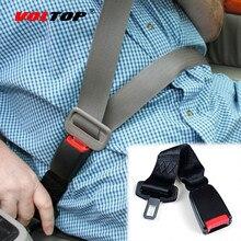 1pcs Auto Fastener Clip อุปกรณ์เสริมที่นั่งเข็มขัดยาวตกแต่ง Dashboard แขวนจี้เด็กป้องกัน