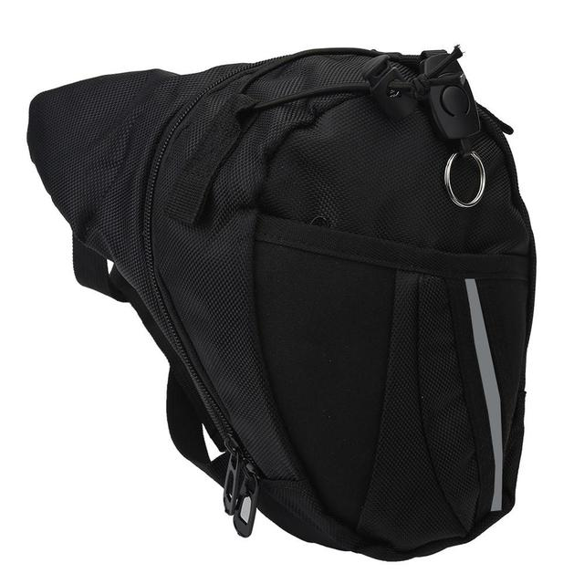 New Man Leg Bag Functional Fanny Running Bag Waist Bag Unisex Money Phone Bag Running Travel   Calm and Carry On