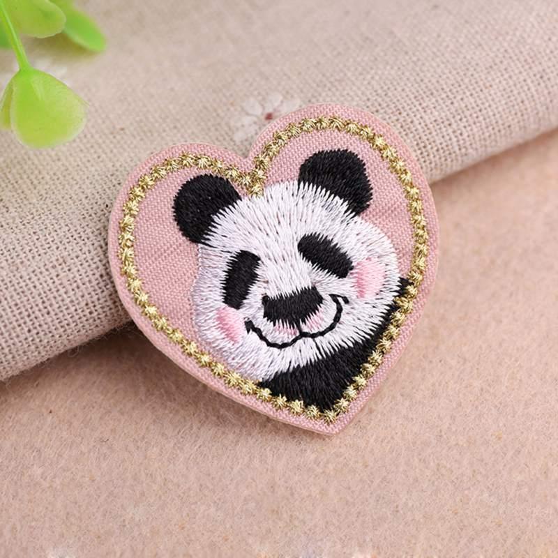 Animal bonito Pano Bordado Adesivos Remendos de Tecido Diy Roupas Jaqueta Jeans Acessórios Decorativos New2 - 5