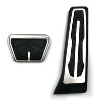 For BMW 1 3 4 5 6 Series F20 F30 F31 F32 F33 F34 F36 X3 X4 X5 X6 F20 F30 E34 E39 E70 E71 E90 Metal Gas Fuel Brake Pedal Pad