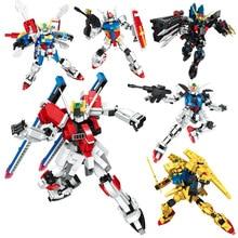 цена на Anime Gundam Fenice Model Hot Kids Toy Action Figuras Assembled Phoenix Robot Puzzle Gift