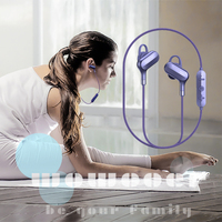 wireless earpiece sport micro neckband bluetooth headphone headset Active Noise Cancelling Hi Fi Stereo bluetooth deep bass