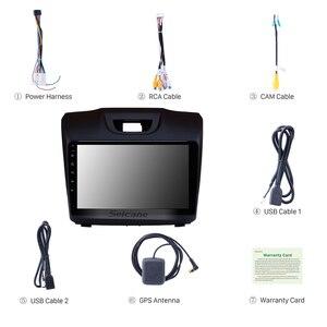 Image 5 - Seicane Radio estéreo con GPS para coche, Radio con Android 9,1 de 9 pulgadas, 2Din, Wifi, bluetooth, para unidad central, para D MAX Isuzu, Chevrolet S10, 2015, 2016, 2017, 2018