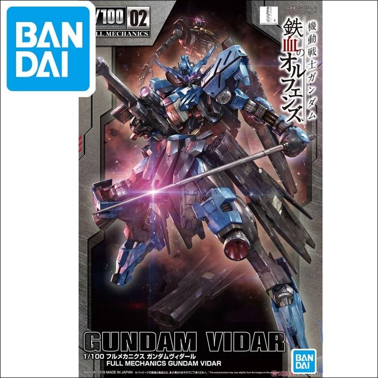 Original Gundam TV 1/100 Model Vidar Mobile Suit IRON-BLOODED ORPHANS Kids Toys