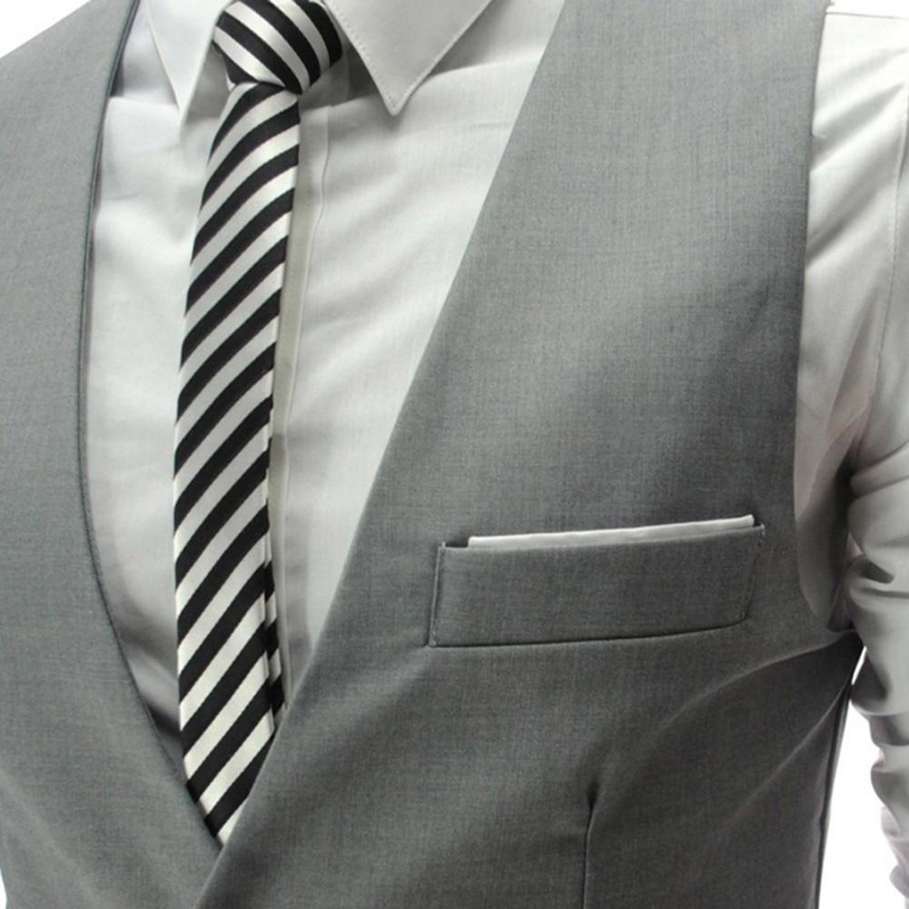 Hd2541cee803c463199e3e52e02790e37O - 2020 New Arrival Casual Sleeveless Formal Business Jacket Dress Vests For Men Slim Fits Mens Suit Vest Male Waistcoat Homme