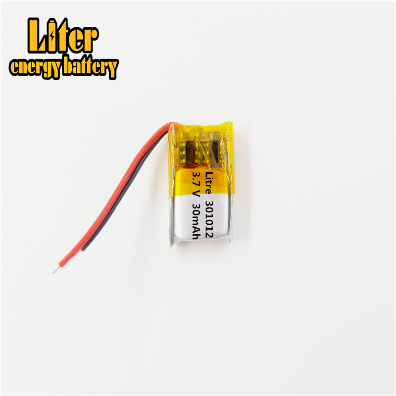 301012 3.7V 30mAH 301014 PLIB polymer lithium ion / Li-ion  for GPS mp3 mp4 mp5 dvd