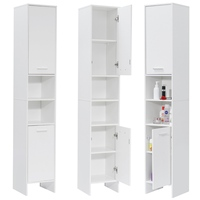 170x30x30cm large 6 Layers Bathroom Cabinet Toilet Furniture Cupboard Shelf Storager Modern Style with Rack For Kitchen