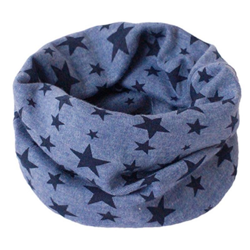 Весенний детский хлопковый шарф, теплый шарф для маленьких детей, осенне-зимние шарфы с героями мультфильмов для мальчиков и девочек, детский воротник с круглым вырезом, волшебный шейный платок - Цвет: 18