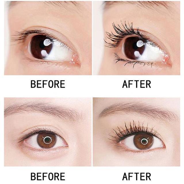 Starry Mascara 4d Eyelash Mascara Waterproof Long Black Lash Eyelash Extension Eye Lashes Brush smudge-proof Long-wearing TSLM 5