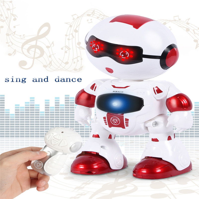 LeZhou Smart Touch Control Programmable Voice Interaction Intelligent Sing Dance RC Robot Toy Gift For Children