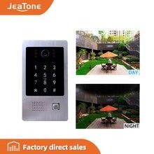 Видеодомофон jeatone с 4 проводами панельная станция для звонков