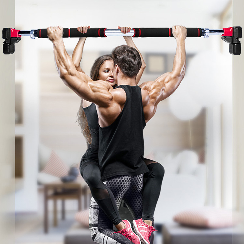 200kg Women Men Adjustable Door Horizontal Bars Exercise Professional Workout Gym Pull Up Training Sport Home Fitness Equipment