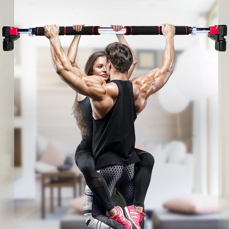 200kg Women Men Adjustable Door Horizontal Bars Exercise Professional Workout Gym Pull Up Training Sport Home Fitness Equipment
