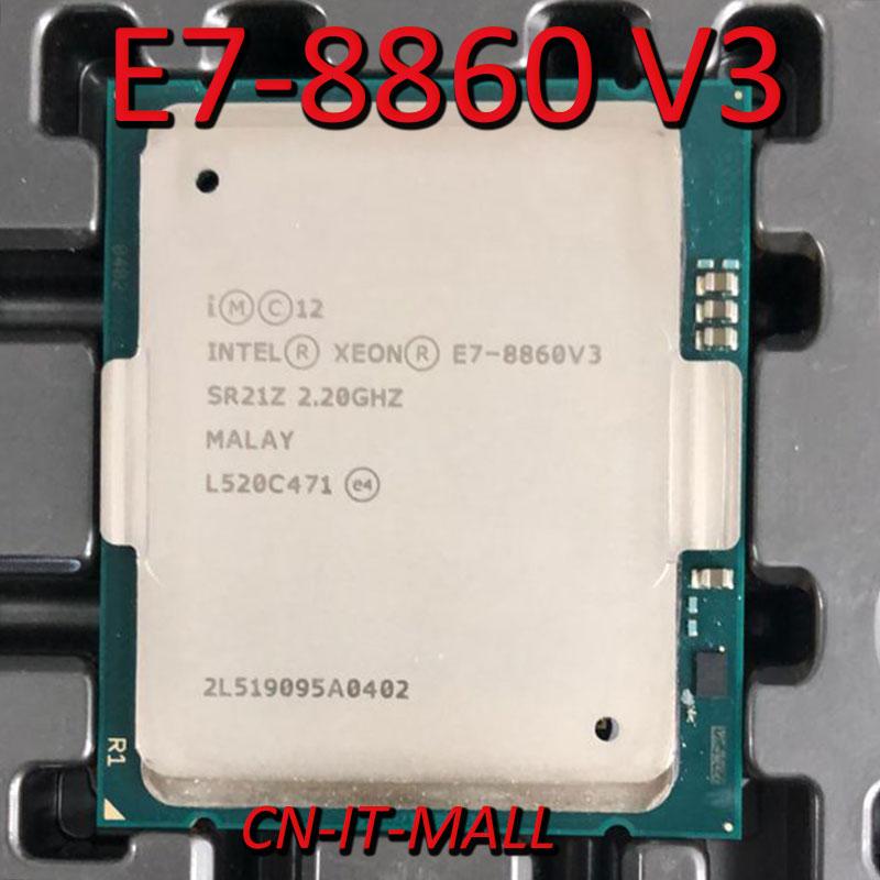 Intel Xeon E7-8860 V3 CPU 2.2GHz 40M 16 Core 32 Threads LGA2011-3 Processor