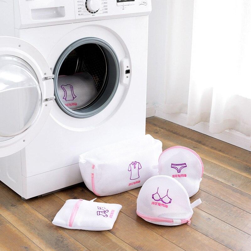 Underwear Qing Laundry Protection Bags Net Pocket Bag Isolation Washing Machine Bra Knicker Protective Laundry Bag Laundry Stora