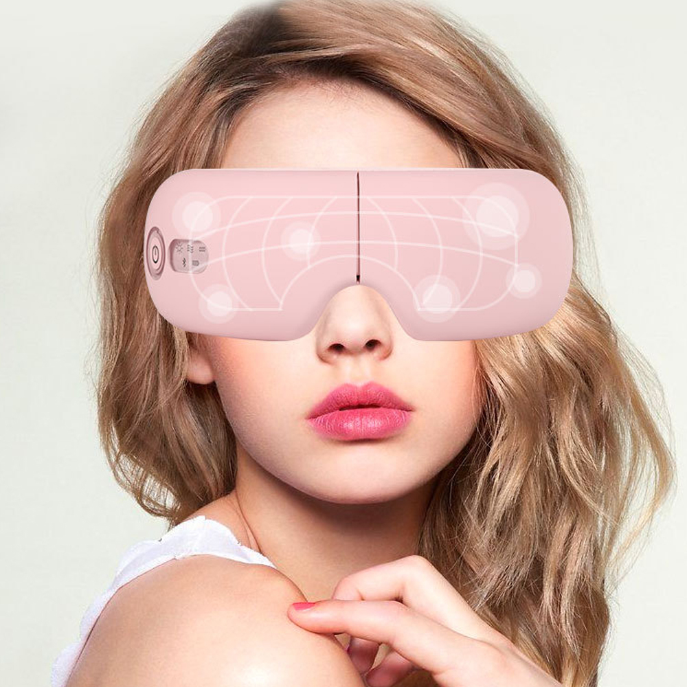 Eye Massager Bluetooth Wrinkle Fatigue Relieve Vibration Hot Compressing Air Pressure Therapy Massage Eye Care Device