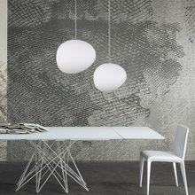 Modern Glass Pendant Lights Italy LED White Hanging Lamp Globe Hanglamp Living Room Kitchen Lighting Fixture