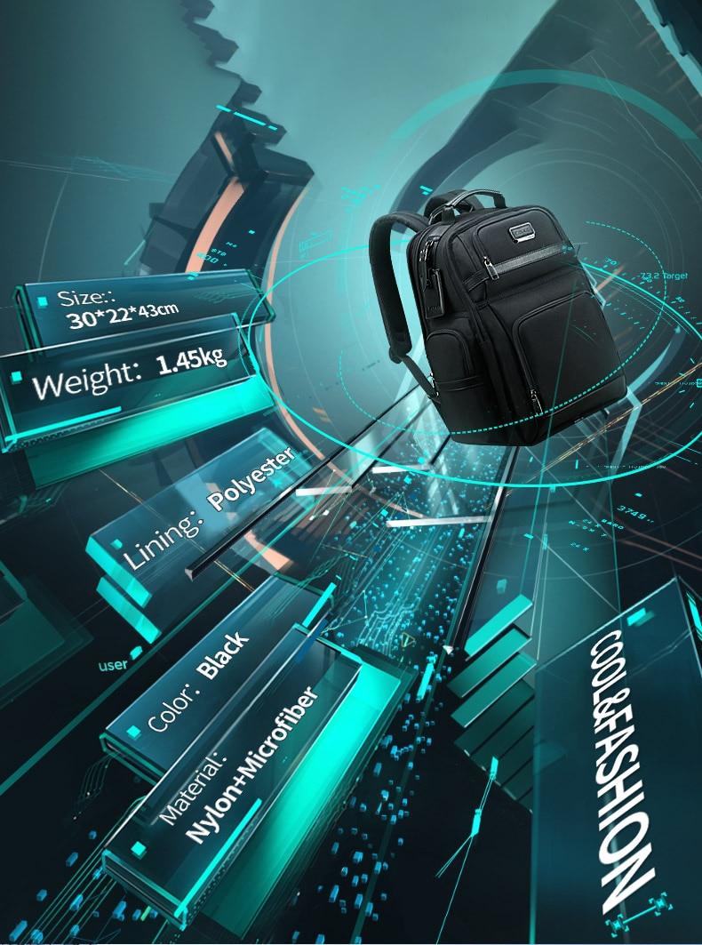 de negócios 15.6 polegadas computador multi-função saco para homem