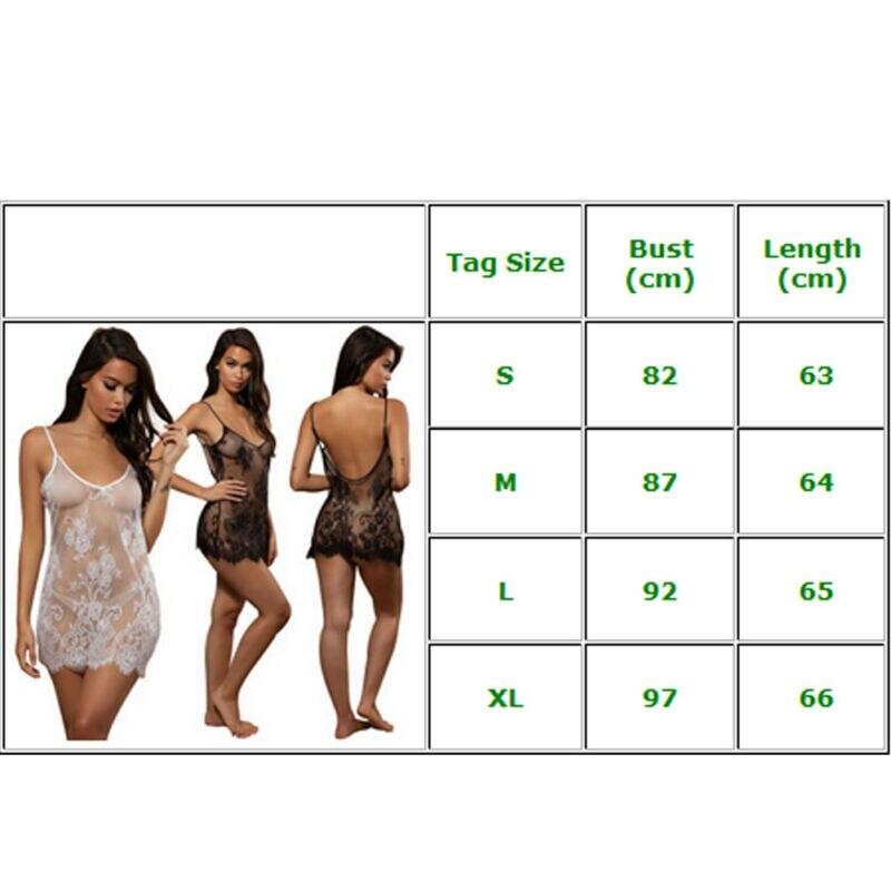 Women Lace Sexy Lingerie Nightwear Underwear G-string Babydoll Sleepwear Dress women's Bikini Cover Up Beach Dress 5