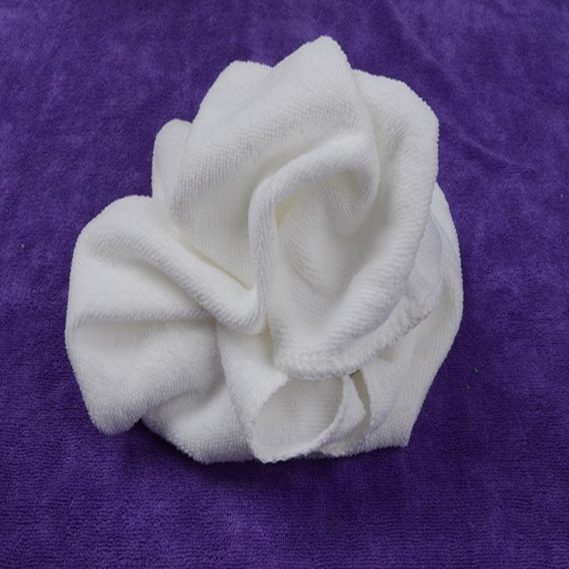 Miękkie haftowane ręcznik luksusowy Hotel biały ciemny szary ręcznik kąpielowy bawełna chłonne duże grube ręczniki 30*60cm wysokiej jakości