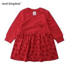 Mudkingdom/осенне зимнее платье для девочек рождественское свитер