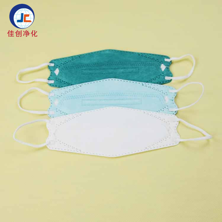 Disposable Dust Mask Willow Shaped Folding Thickening Nonwoven Fabric Face Mask Manufacturers Direct Selling Customizable OEM