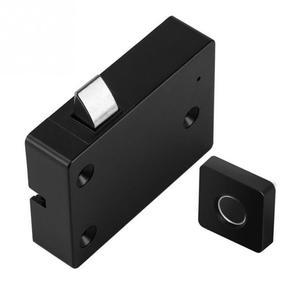 Image 3 - الأثاث قفل ببصمة الأصبع المنزل ABS درج الذكية مكافحة سرقة مكتب بدون مفتاح خزانة إلكترونية صغيرة الأمن الذكي