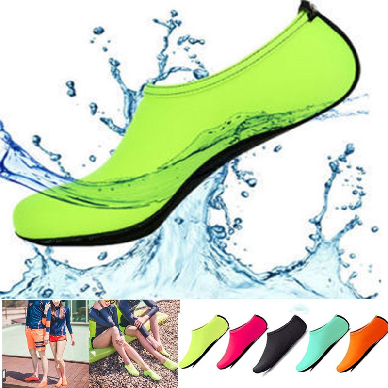 Waterproof Beach Shoes Neoprene Water Socks Non-slip Aqua Swimming Shoes Men Women Sneaker Diving Beach Surfing Barefoot