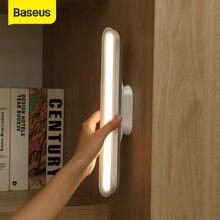 Baseus – lampe de Table suspendue magnétique, rechargeable, variateur continu, veilleuse pour armoire, garde-robe, bureau