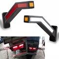 2 шт. грузовик боковой габаритный фонарь светильник ing прицеп Ван светодиодный светильник s Универсальный 12V 24V светодиодный неоновый стебел...