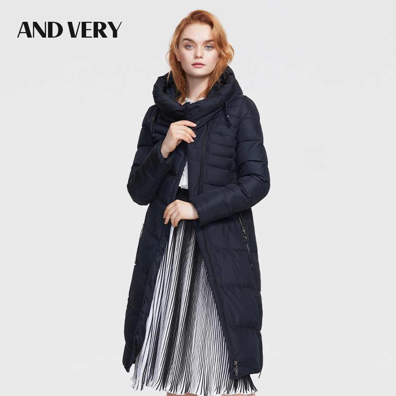 ANDVERY2019 冬の新到着冬のジャケットの女性新スタイルファッションコート厚い綿冬暖かいビッグサイズのコートの女性 8179