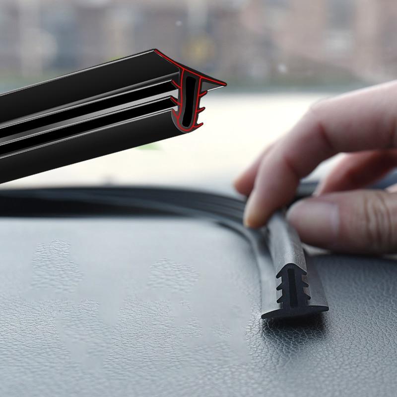 Автомобильная наклейка, уплотнительные полосы для приборной панели, резиновые уплотнения, звукоизоляция, уплотнение, универсальные автомо...