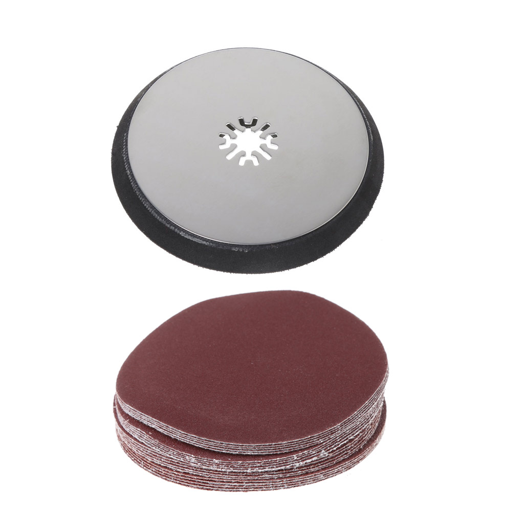 115mm Round Sanding Pad Oscillating Multitool For Fein Multimaster Chicago Bosch Drop Shipping Support