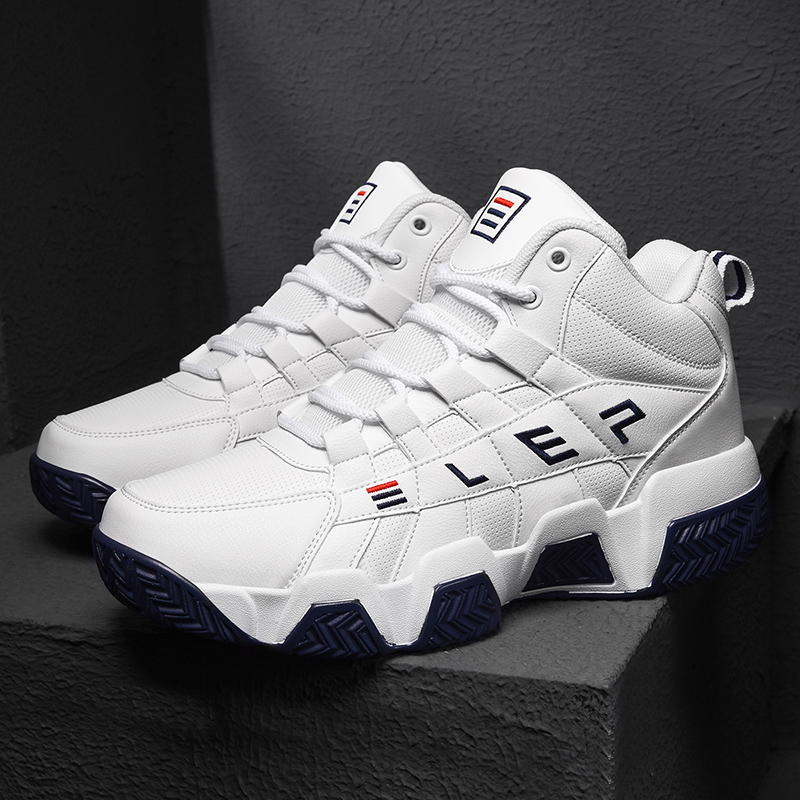 Men/'s Basketball Shoes High Top Cross Training Shoes Fashion Athletic Sneakers