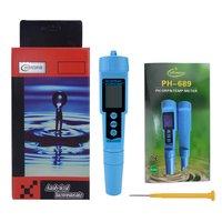 Tragbare PH ORP TEMP Meter Tester Stift Acidometer Leitfähigkeit Detektor Digitalen Wasser Qualität Monitor Tester