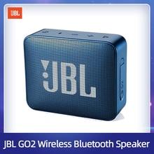JBL GO2 무선 블루투스 스피커 IPX7 방수 야외 휴대용 스피커 충전식 배터리와 마이크 3.5mm 포트 스포츠 이동 2