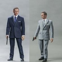 цена на Blackbox Toys 1/6 BB9002A/B Ghost Party-JamesBond 007 Agent British Intelligence Agency MI6 12inch Male Action Figure Dolls