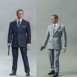 Blackbox Toys 1/6 BB9002A/B Ghost Party-JamesBond 007 Agent British Intelligence Agency MI6 12inch Male Action Figure Dolls
